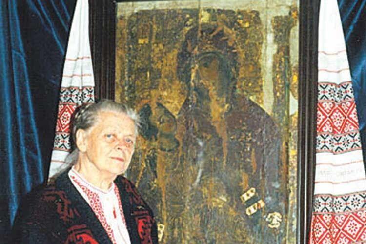 Від бомбардування образ Холмської Богородиці врятувала двоюрідна сестра автора «Майстра іМаргарити»