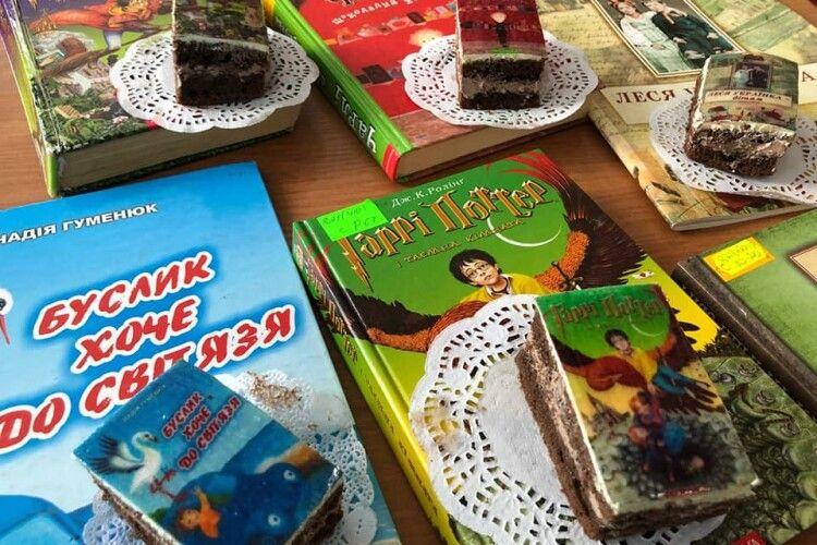 У Волинській бібліотеці напекли смачних «книжок» (Фото)