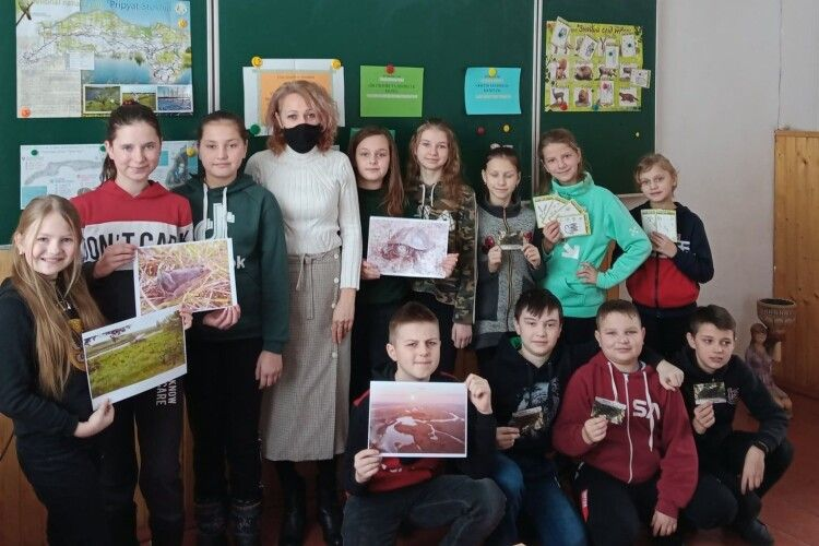 На Любешівщині працівники Національного природного парку проводять екологічні уроки