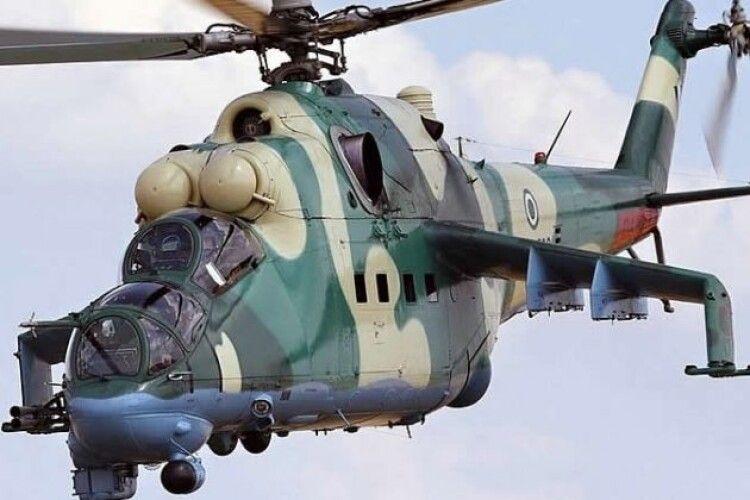 У Вірменії недалеко від кордону з Азербайджаном збито російський ударний вертоліт Мі-24
