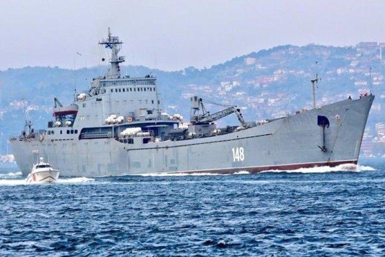 Росія переправляє до Сирії військову техніку