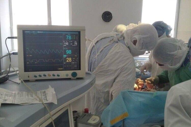 Завдяки ковельським хірургам молода жінка зможе народжувати дітей