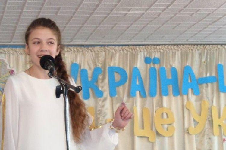 Дарину Сцьольну з Горохова визнано найталановитішою співачкою України
