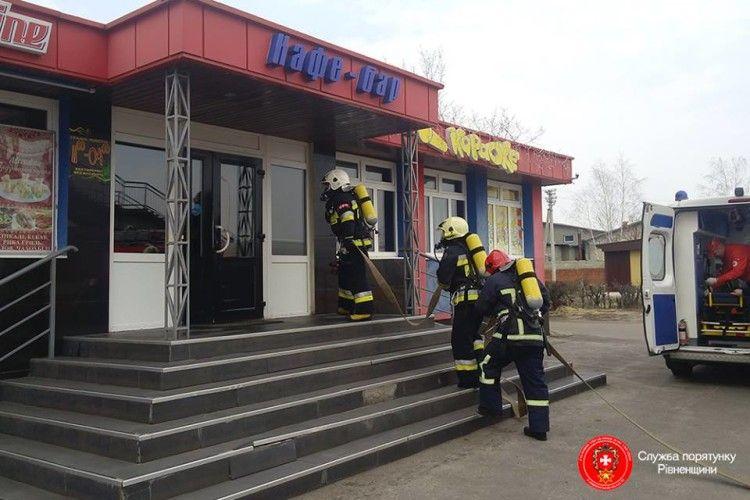 На Рівненщині у нічному клубі посеред білого дня вибухнув газ (фото)