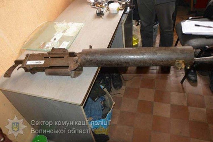 Кулемет часів Другої світової пенсіонер з Іваничівського району зберігав у... кафе