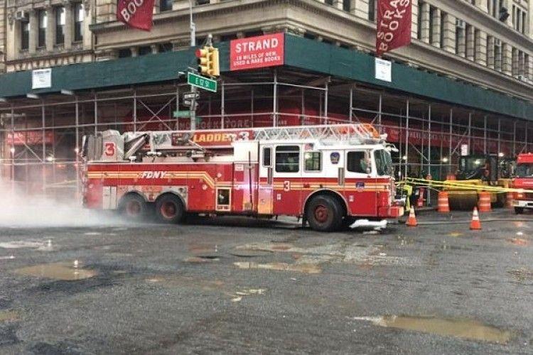 У Нью-Йорку потужний підземний вибух (фото)