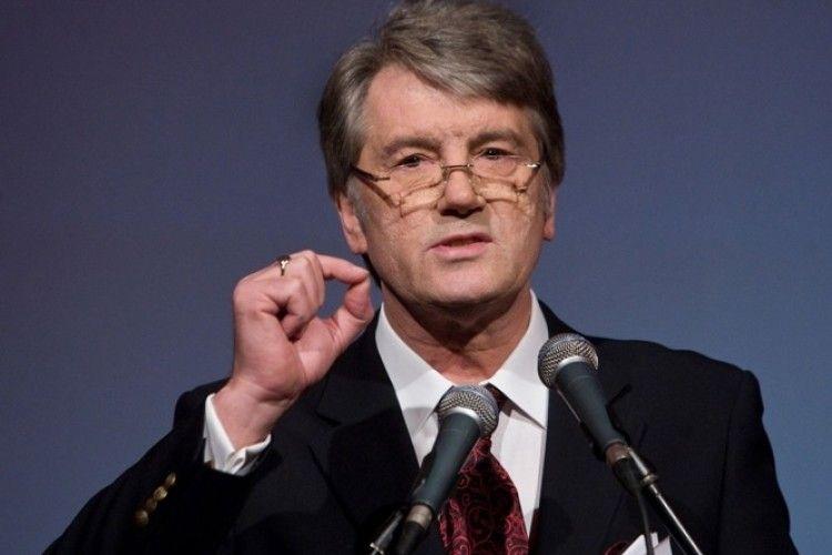 Ющенко: «Це не АТО, не просто війна, а національно-визвольна війна»