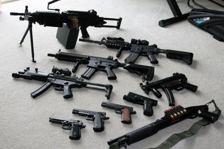 Позбудьтеся нелегального «арсеналу»