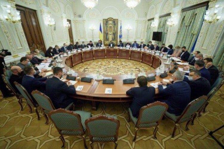 РНБО проведе засідання щодо ситуації у трьох прикордонних областях