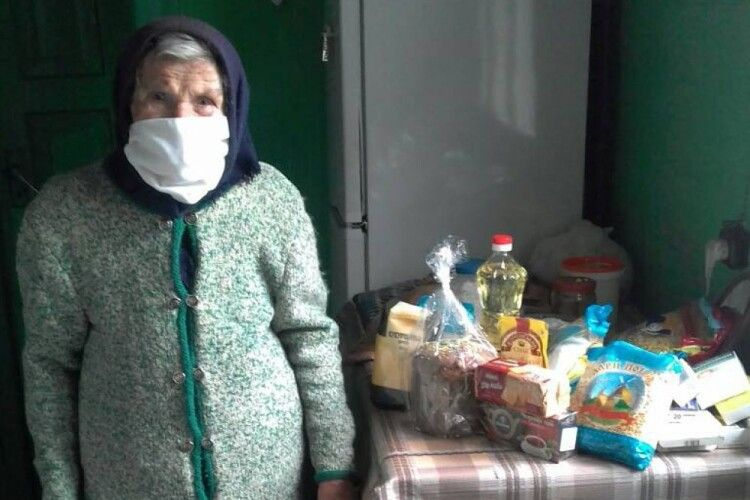На Ковельщині подбали про самотніх престарілих