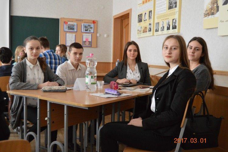 Луцькі школярі змагалися на турнірі юних журналістів