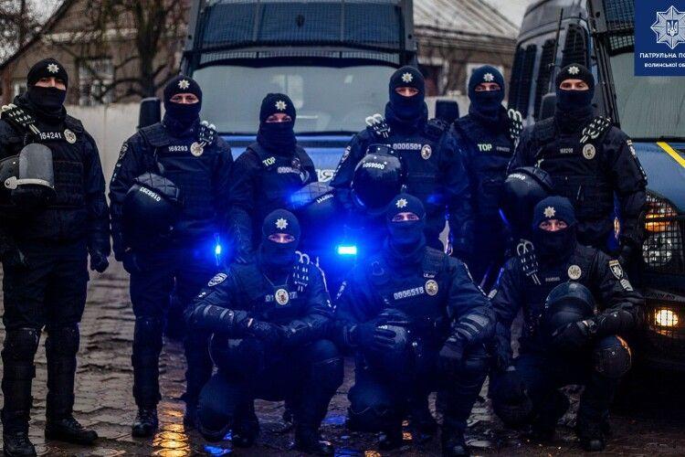 За що волинські патрульні дякують громадянам у 5 річницю служби