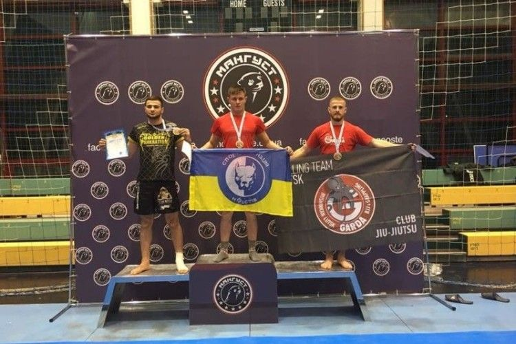 Волинянин здобув «бронзу» на чемпіонаті України з панкратіону та греплінгу