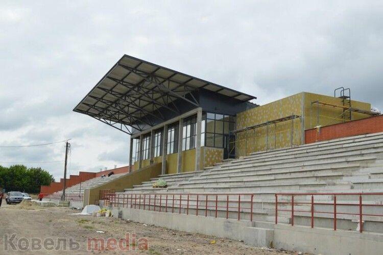 Уряд виділив 20 млн грн на реконструкцію стадіону в Ковелі
