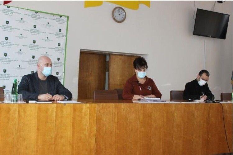 У місті на Волині вже облаштовують кімнату для майбутнього проведення щеплень від COVID-19
