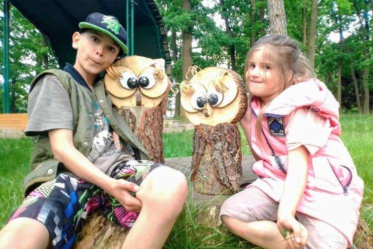 У ківерцівському парку хваляться Сонічкою і Софочкою (Фото)