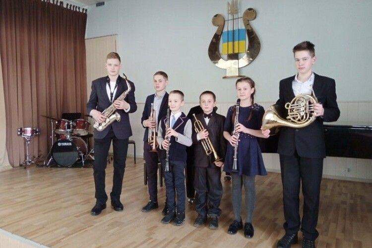 Юні любомльські музиканти здобули нагороди на обласному конкурсі