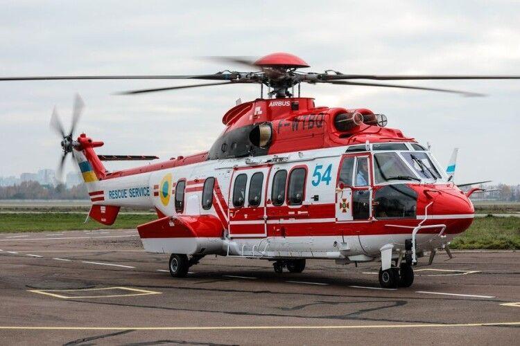 ДСНС отримала вже п'ятий гелікоптер (Відео)