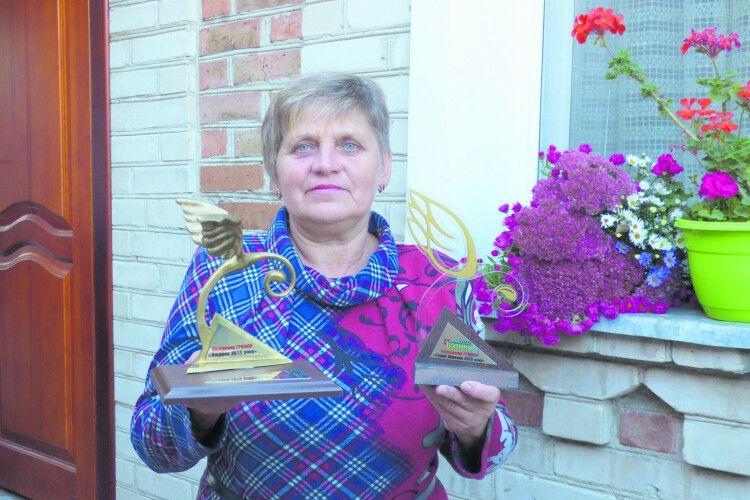 Мама Героя України отримала головну редакційну нагороду від «газети Волинь»