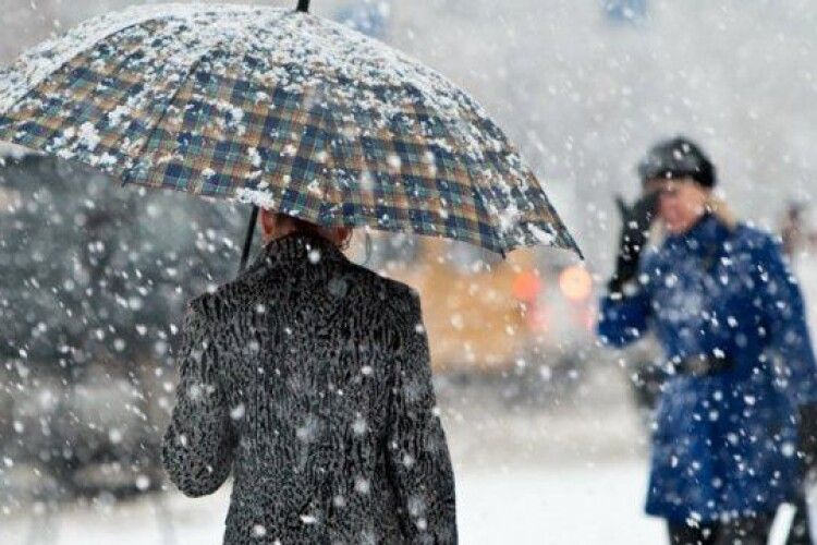 Погода на суботу, 27 лютого: мокрий сніг і північно-західний вітер