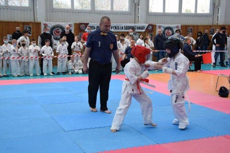 У Луцьку пройшли змагання з карате (Фото)