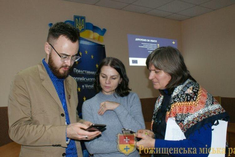 Представництво ЄС в Україні ділилось досвідом у Рожищі