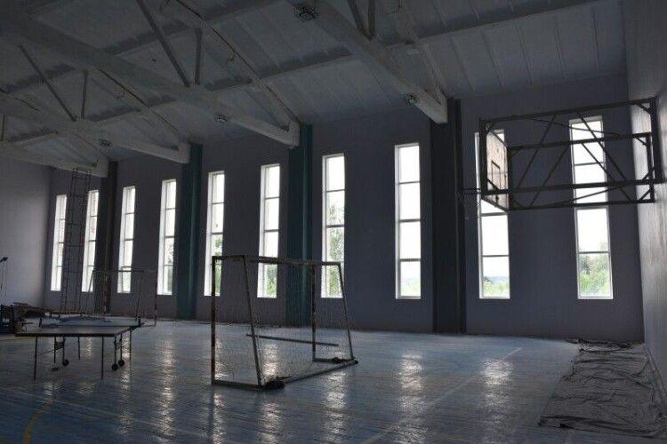 Дитячо-юнацька спортивна школа №3 Луцька перероджується в сучасний спортивний комплекс  (Фото)