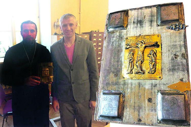 У Литві я тримав у руках найстарішу книжку Полісся – Нобельське Євангеліє