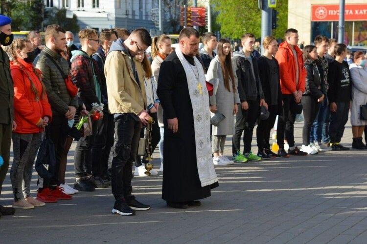У Луцьку помолилися за загиблих воїнів (Фото)