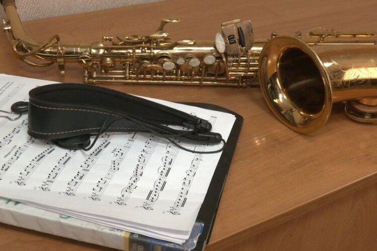 Військовий оркестр на Волині: на першій репетиції грали гімн