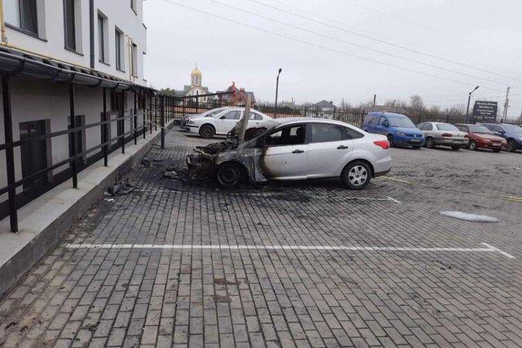 Підпалили автомобіль луцької журналістки