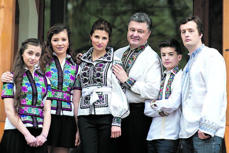 А Президент України — івсім'ї президент!