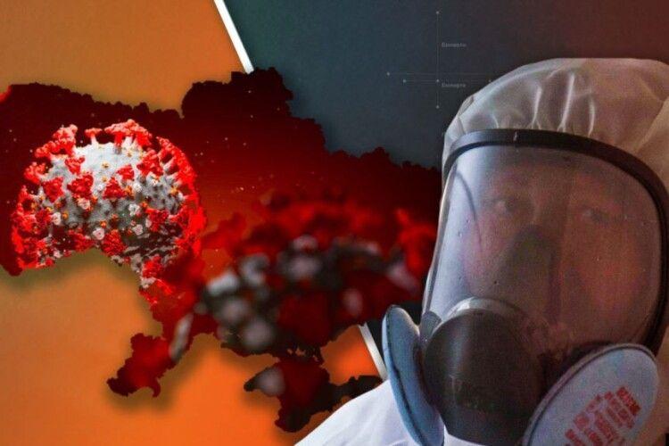 І знову коронавірусні антирекорди: в Україні – 6719 нових заражень, на Волині – 203