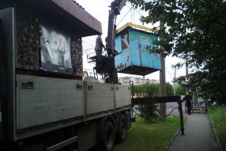 У Луцьку демонтують незаконні об'єкти згідно з новою «Програмою»