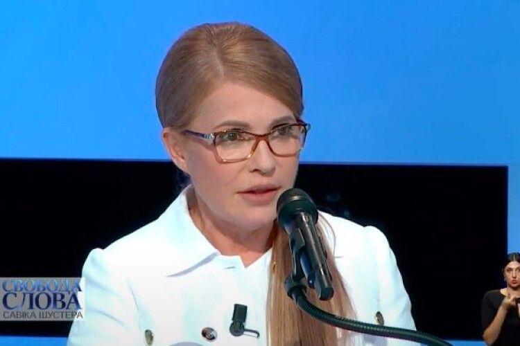 Тимошенко про COVID-19: «Коли задихаєшся, не знаєш, чим це закінчиться через 5 або 10 хвилин»