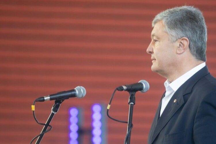 Відверті агенти Кремля лізуть у місцеві органи влади, щоб відродити проект «Новоросія» – Порошенко в Сумах