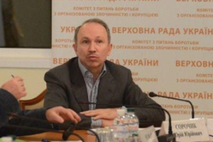 Керівник секретаріату Комітету ВР з питань запобігання і протидії корупціївідгамселив патрульного порліцейського