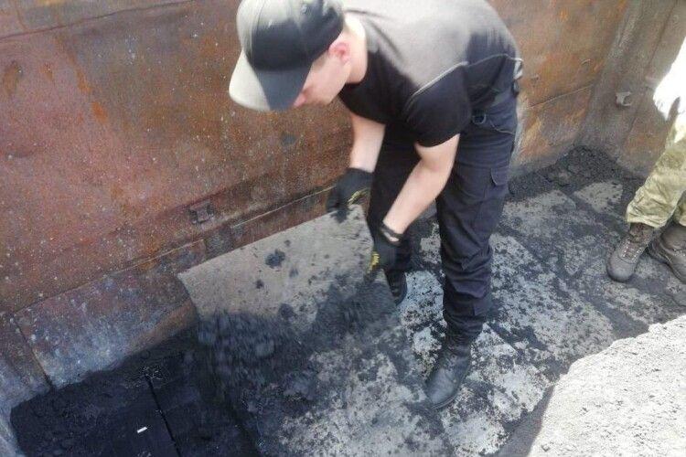 Прикордонники знайшли у поїзді контрабандну «закладку» (Фото)