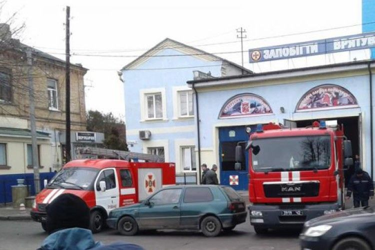 Паркуватися біля рівненських пожежників потрібно обережно