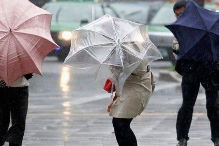 Погода на вівторок, 5 січня: дощ, та ще й з вітром