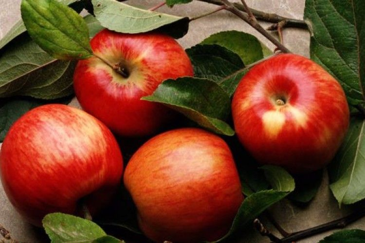 Наші яблука у Гонконзі
