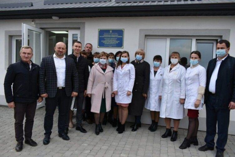 На Волині відкрили нову амбулаторію