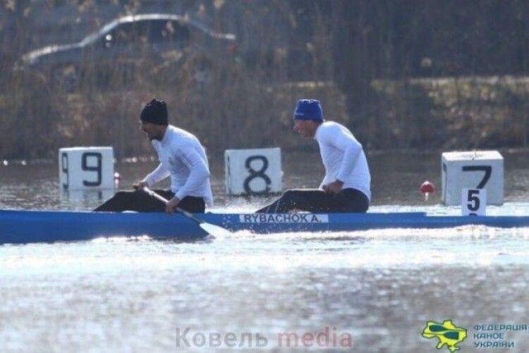 Ковельські веслувальники здобули низку медалей на Кубку України