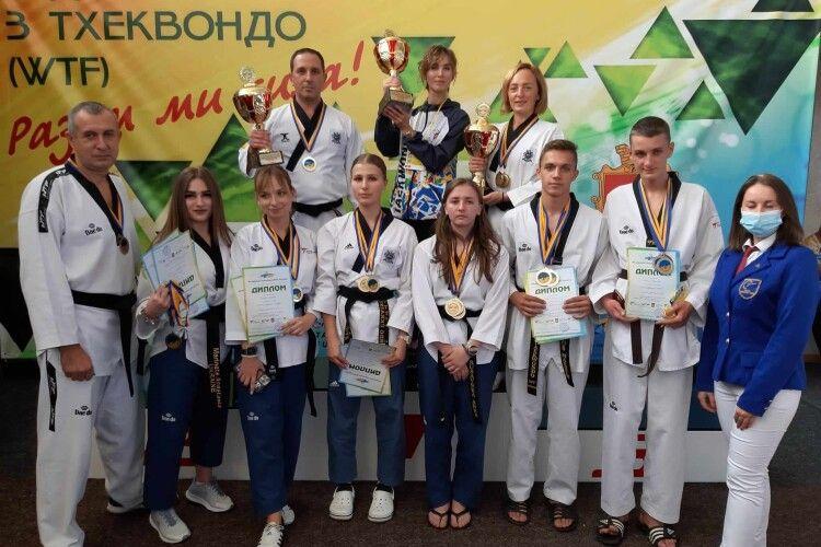 Волинські спортсмени завоювали бронзу на кубку України з тхеквондо
