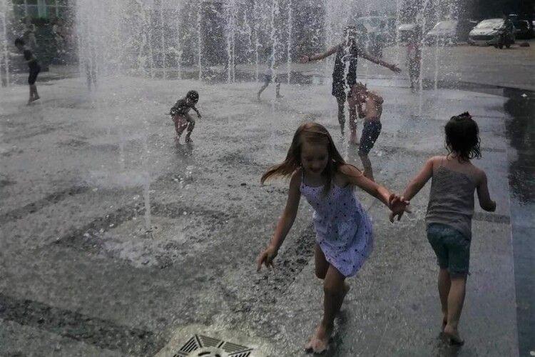 Коли працюватимуть луцькі фонтани