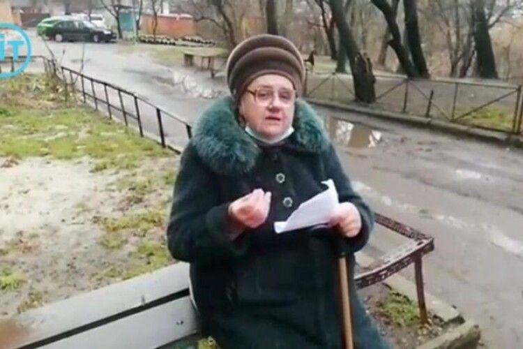 Пенсіонерка з Луцька звернулася до Зеленського (Відео)