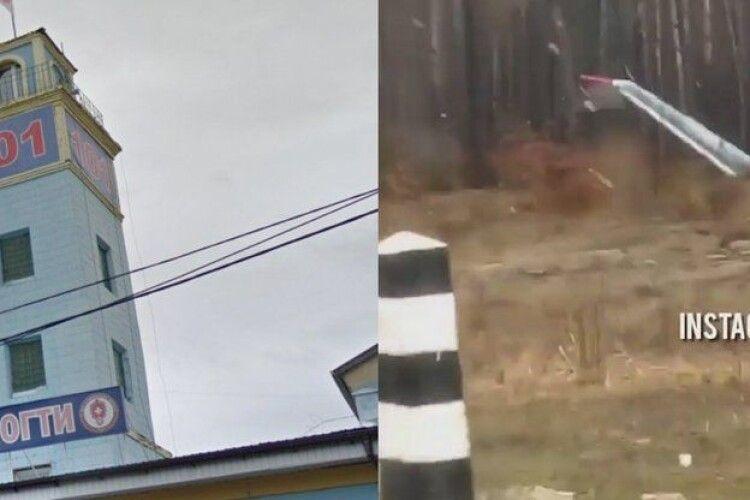Неподалік Рівного знімають серіал про рятувальників