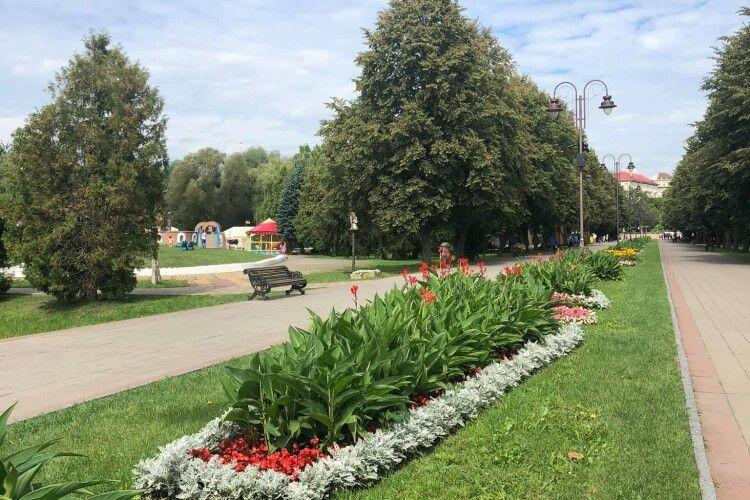 Як в Луцьку чепурять парк до Дня міста (Фото)