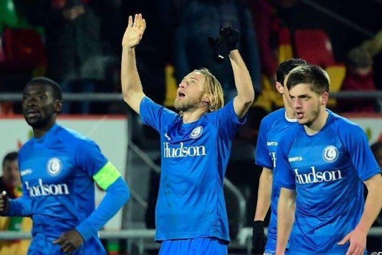 Роман Безус забив переможний гол за бельгійський «Гент»