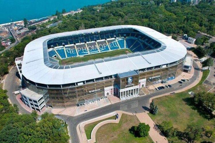 Стадіон «Чорноморець» в Одесі продали за п'ять мільйонів доларів невідомій компанії, зареєстрованій у США